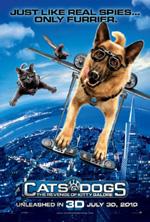Poster Cani & Gatti - La vendetta di Kitty 3D  n. 11