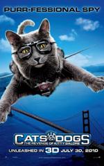 Poster Cani & Gatti - La vendetta di Kitty 3D  n. 2