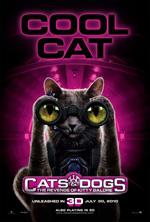 Poster Cani & Gatti - La vendetta di Kitty 3D  n. 3