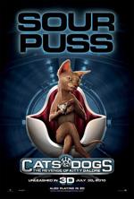 Poster Cani & Gatti - La vendetta di Kitty 3D  n. 4