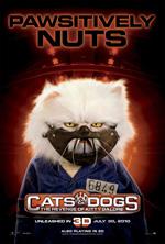Poster Cani & Gatti - La vendetta di Kitty 3D  n. 6