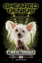 Poster Cani & Gatti - La vendetta di Kitty 3D  n. 9