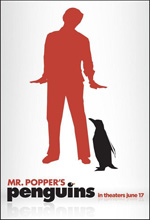 Poster I pinguini di Mr. Popper  n. 1