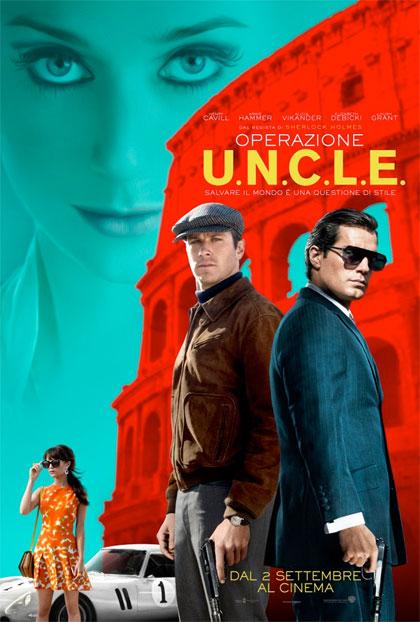 Poster Operazione U.N.C.L.E.