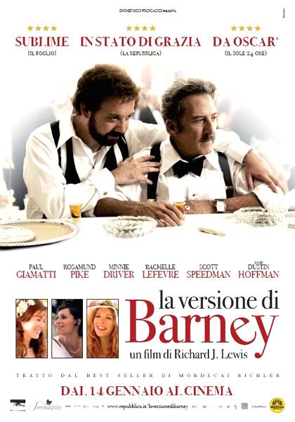 Locandina italiana La versione di Barney