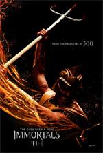 Poster Immortals 3D  n. 2