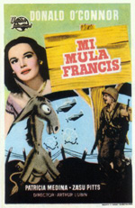 Poster Francis, il mulo parlante  n. 1
