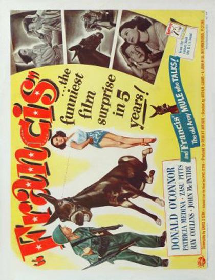 Poster Francis, il mulo parlante