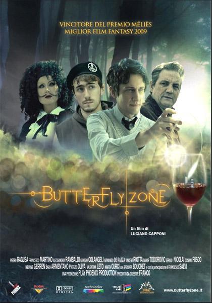 Locandina italiana Butterfly Zone - Il senso della farfalla