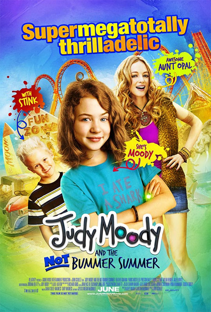 Locandina italiana Judy Moody and the Not Bummer Summer