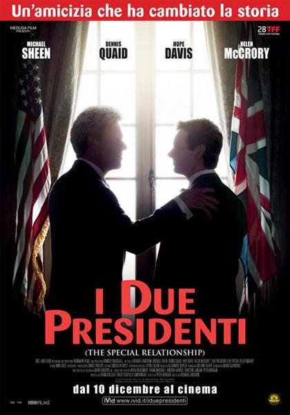 Locandina italiana I due presidenti (The Special Relationship)