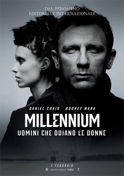 Locandina italiana Millennium - Uomini che odiano le donne