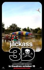 Poster Jackass 3D  n. 3