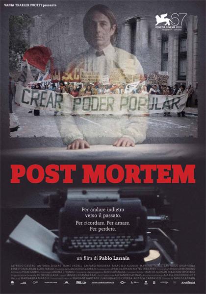 Locandina italiana Post Mortem