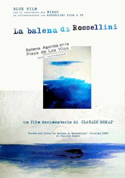 Locandina italiana La balena di Rossellini
