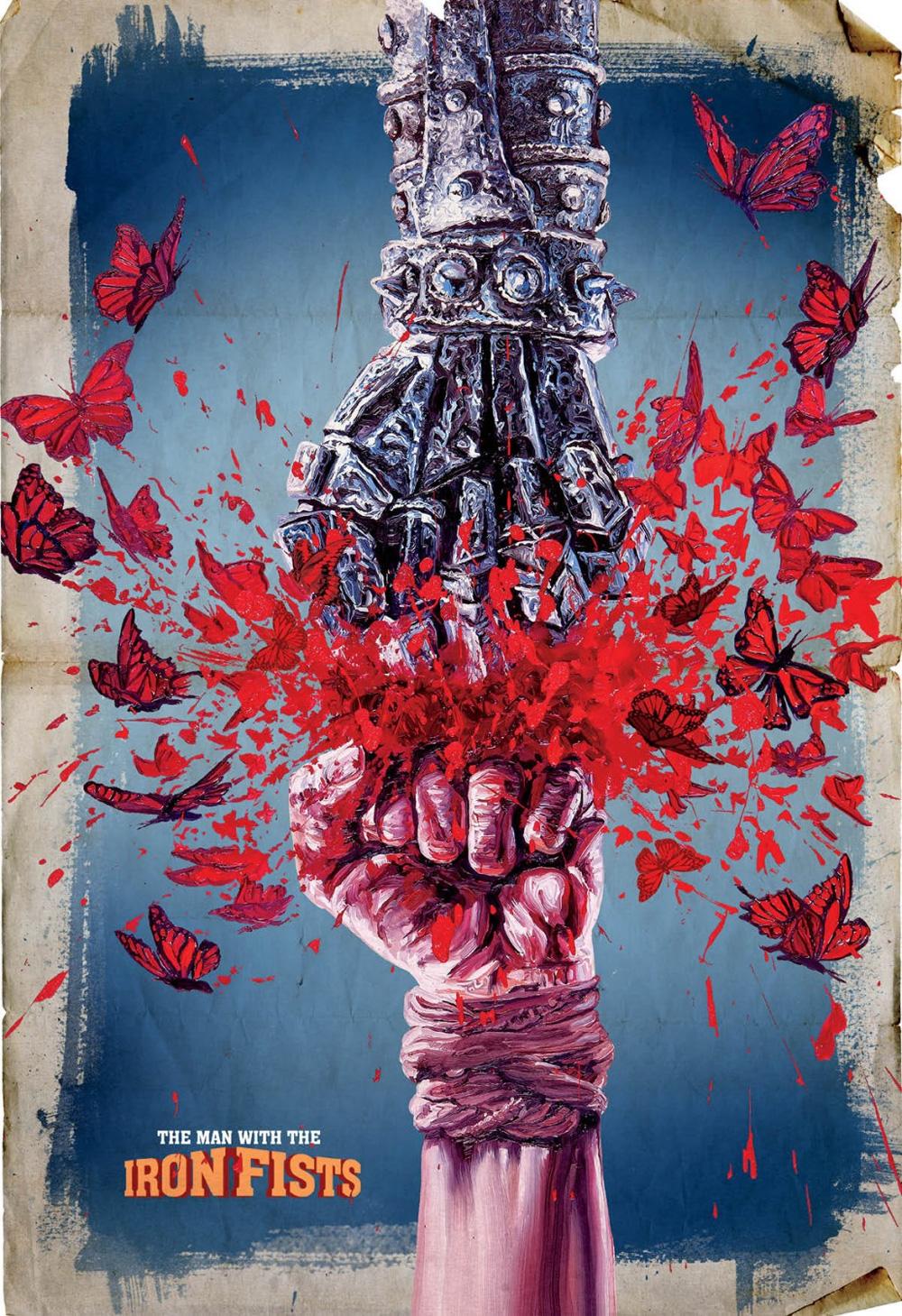 Poster L'uomo con i pugni di ferro
