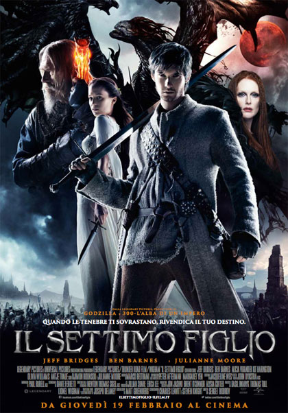 Locandina italiana Il settimo figlio