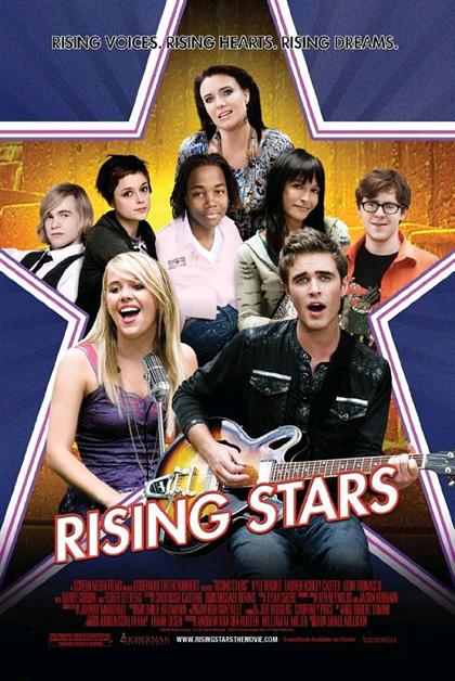 Locandina italiana Rising Stars
