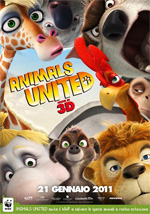 Poster Animals United 3D  n. 1