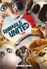 Poster Animals United 3D  n. 2