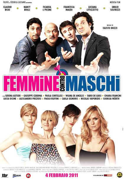 Locandina italiana Femmine contro Maschi
