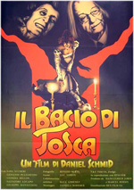 Locandina Il bacio di Tosca