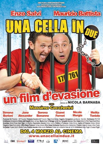 Locandina italiana Una cella in due