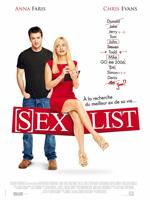 Poster Sexlist  n. 1