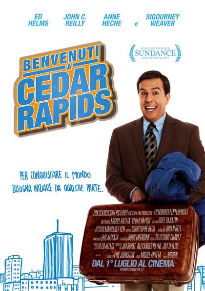 Locandina italiana Benvenuti a Cedar Rapids