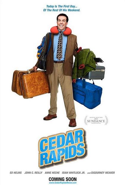 Poster Benvenuti a Cedar Rapids