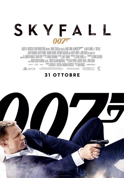 Locandina italiana Skyfall