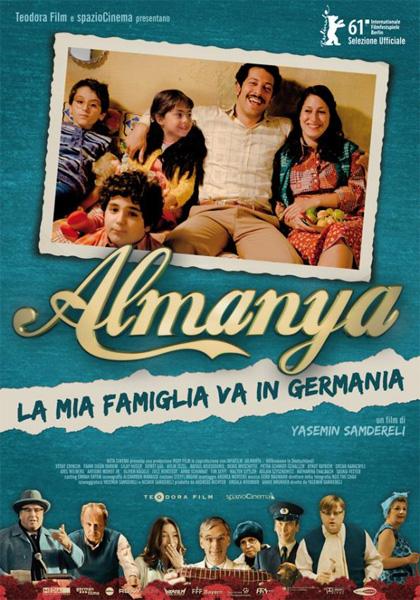 Locandina italiana Almanya - La mia famiglia va in Germania