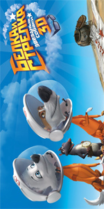 Poster Space Dogs 3D  n. 6