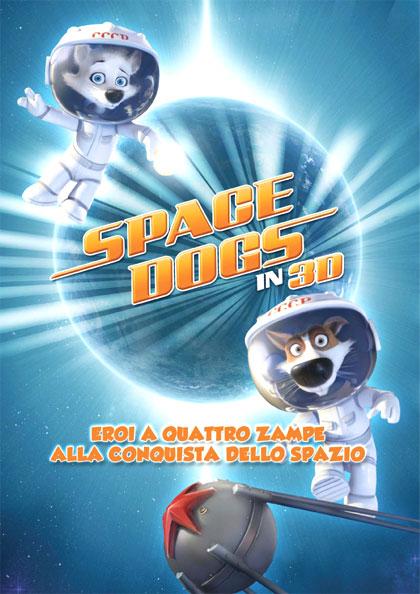 Locandina italiana Space Dogs 3D