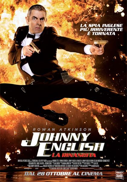 Locandina italiana Johnny English - La Rinascita