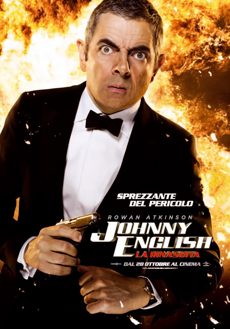Poster Johnny English - La Rinascita