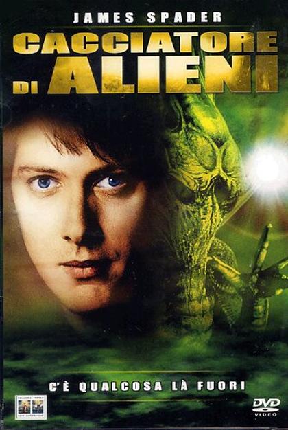 Locandina italiana Il cacciatore di alieni