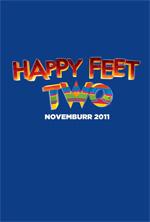 Poster Happy Feet 2 in 3D  n. 1