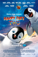 Poster Happy Feet 2 in 3D  n. 2