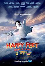 Poster Happy Feet 2 in 3D  n. 3