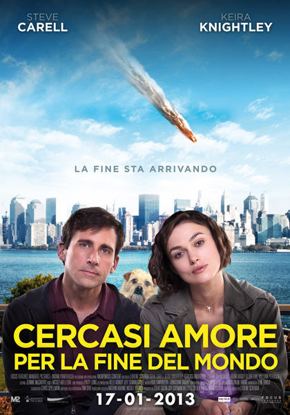 Locandina italiana Cercasi amore per la fine del mondo