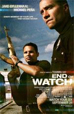 Poster End of Watch - Tolleranza Zero  n. 1