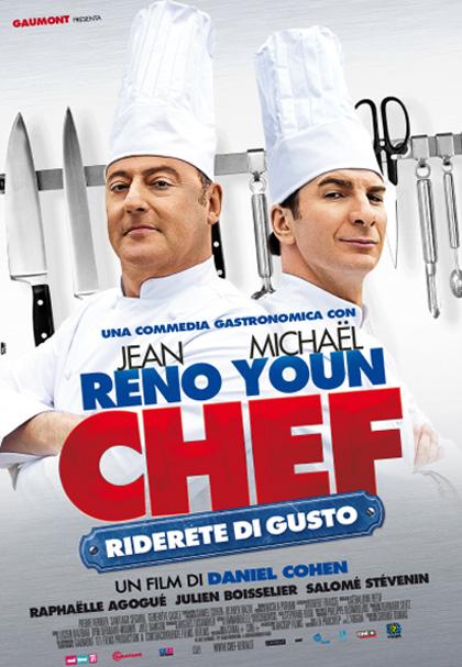 Locandina italiana Chef