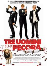 Trailer Tre uomini e una pecora