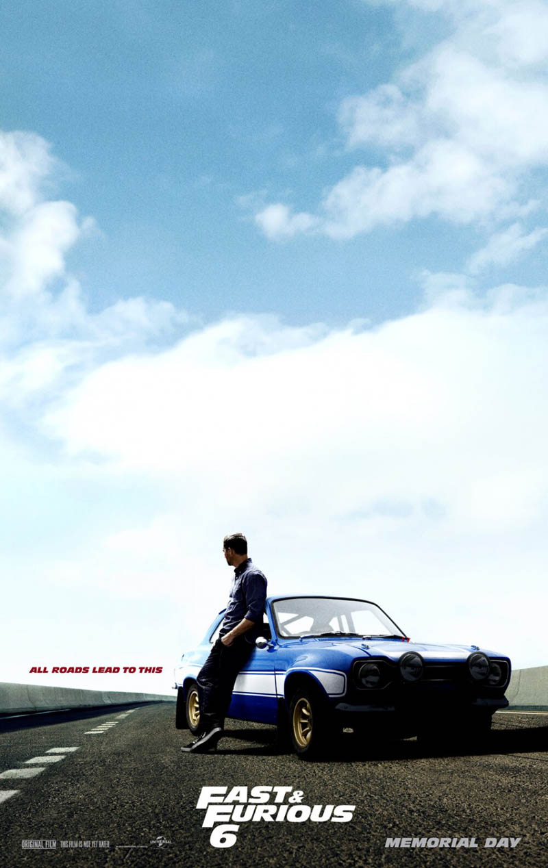 Poster Fast & Furious 6