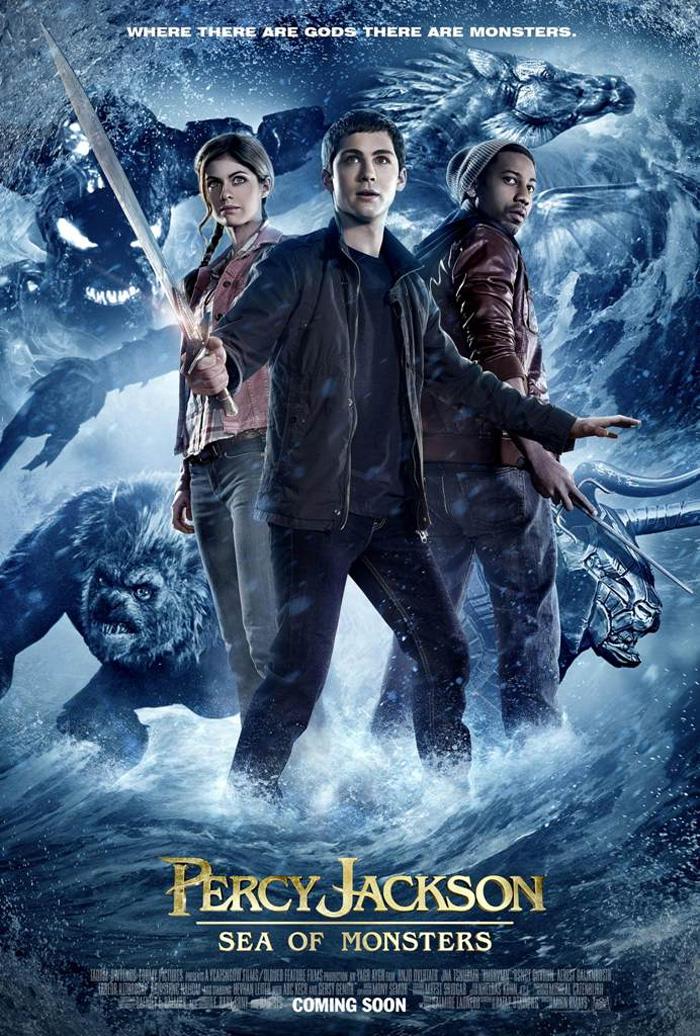 Poster Percy Jackson e gli Dei dell'Olimpo - Il mare dei mostri