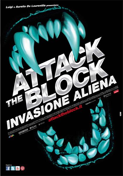 Locandina italiana Attack the Block - Invasione Aliena