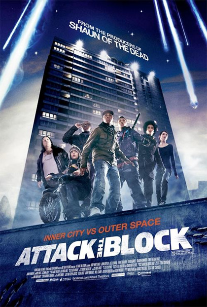 Poster Attack the Block - Invasione Aliena