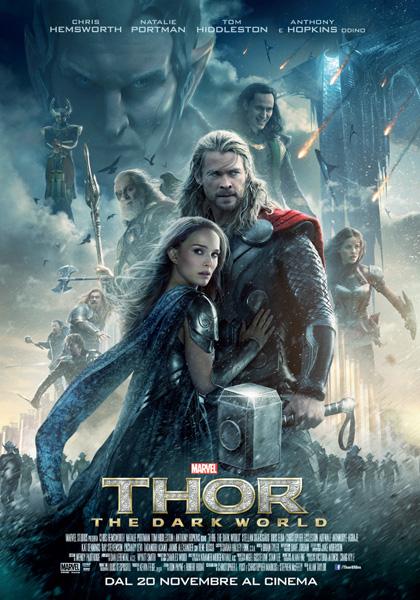 Locandina italiana Thor - The Dark World