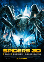 Poster Spiders 3D  n. 0